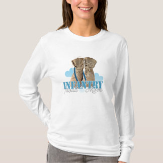proud infantry mom T-Shirt