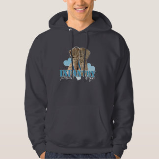 proud infantry wife pullover