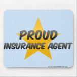 Proud Insurance Agent Mouse Pad