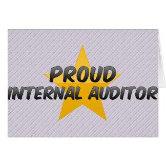 Proud Internal Auditor Card