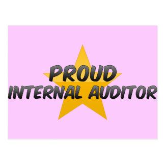 Proud Internal Auditor Post Card
