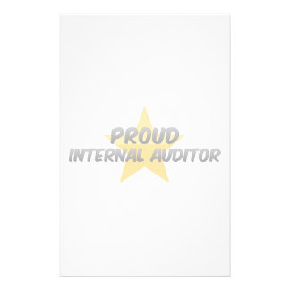Proud Internal Auditor Stationery