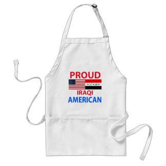 Proud Iraqi American Adult Apron