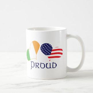 Proud Irish American Coffee Mug