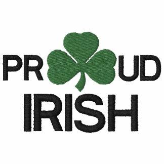 Proud Irish Embroidered Polo Shirt