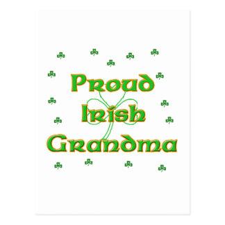 Proud Irish Grandma Post Cards