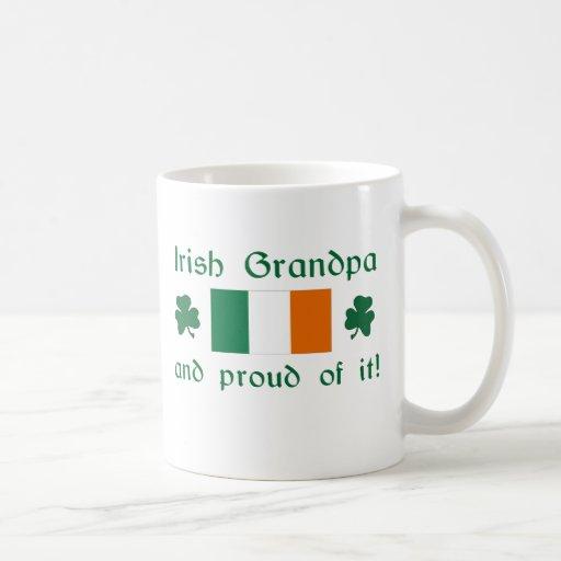 Proud Irish Grandpa Classic White Coffee Mug