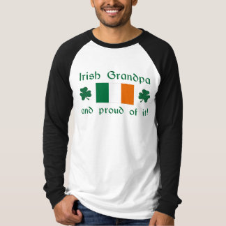 Proud Irish Grandpa T Shirt
