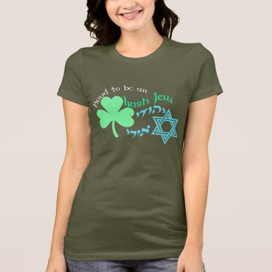Proud Irish Jew Women's Dark Shirts