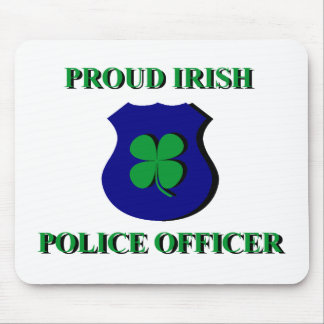 Proud Irish Police Officer Mouse Pad