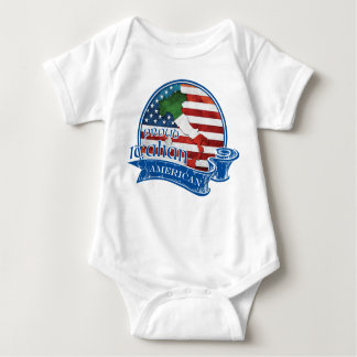 Proud Italian American Baby Bodysuit