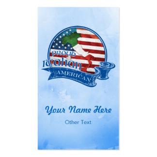 Proud Italian American Business Cards