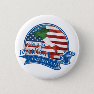 Proud Italian American Button