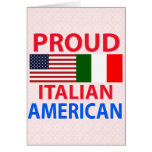 Proud Italian American Cards