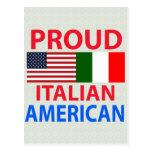 Proud Italian American Post Card