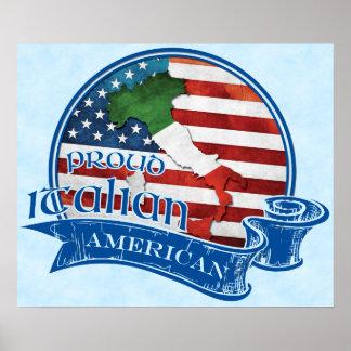 Proud Italian American Poster Print