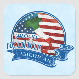 Proud Italian American Sticker Set