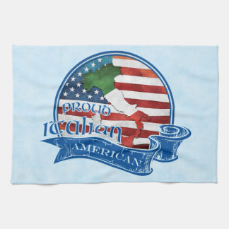 Proud Italian American Tea Towels