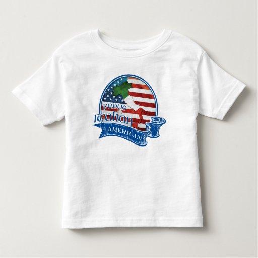 Proud Italian American Tee Shirt