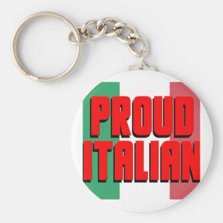 Proud Italian Keychain