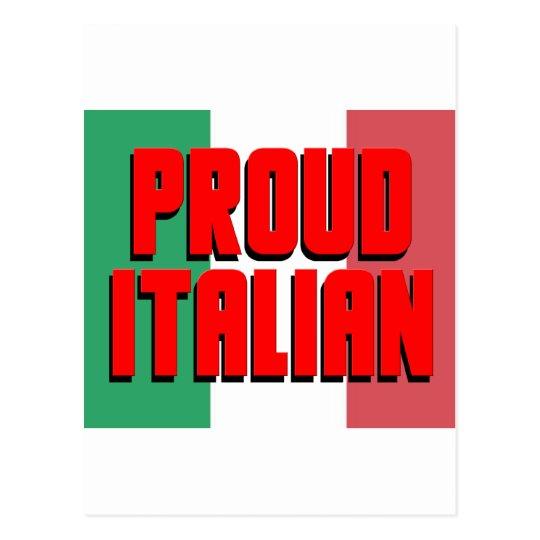 Proud Italian Postcard