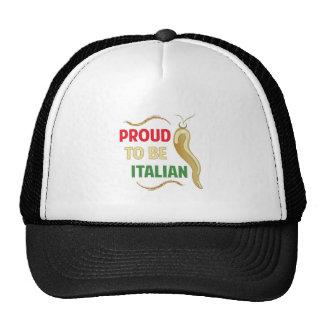Proud Italian Trucker Hat
