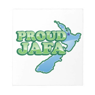 PROUD JAFA  (just another F****** Aucklander) Notepad