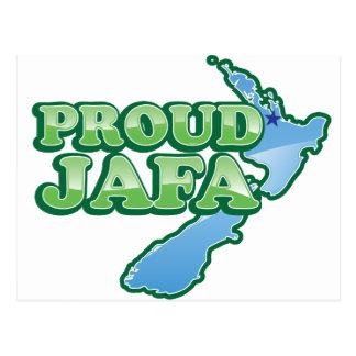 PROUD JAFA  (just another F****** Aucklander) Postcard