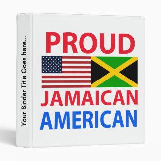 Proud Jamaican American Binders