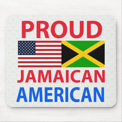 Proud Jamaican American Mousepads