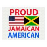 Proud Jamaican American Post Card