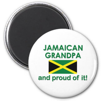 Proud Jamaican Grandpa 2 Inch Round Magnet