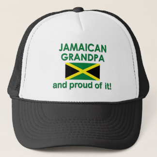 Proud Jamaican Grandpa Trucker Hat