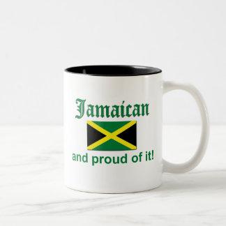 Proud Jamaican Two-Tone Coffee Mug
