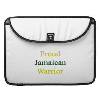 Proud Jamaican Warrior Sleeves For MacBooks