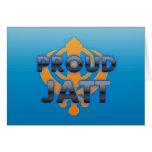 Proud Jatt, Jatt pride Greeting Cards