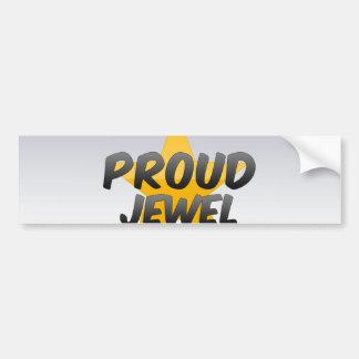 Proud Jewel Car Bumper Sticker