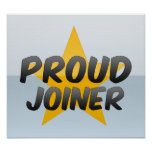 Proud Joiner Poster