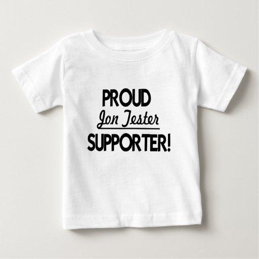Proud Jon Tester Supporter! Baby T-Shirt