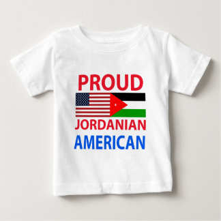Proud Jordanian American Baby T-Shirt