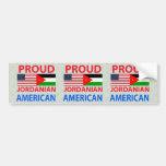 Proud Jordanian American Bumper Sticker