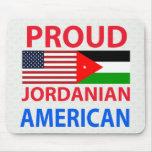 Proud Jordanian American Mousepad