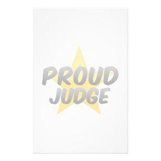 Proud Judge Stationery