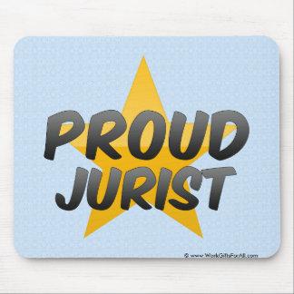 Proud Jurist Mouse Pad