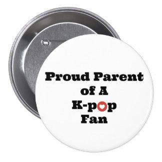 Proud K-Pop Parent Pinback Button