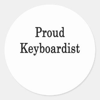 Proud Keyboardist Stickers