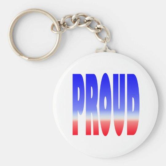 proud keychain
