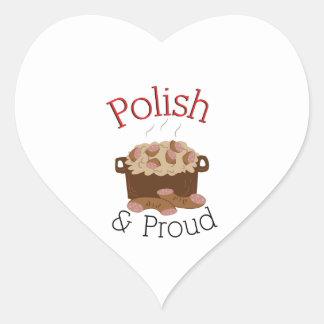 Proud Kielbasa Heart Sticker
