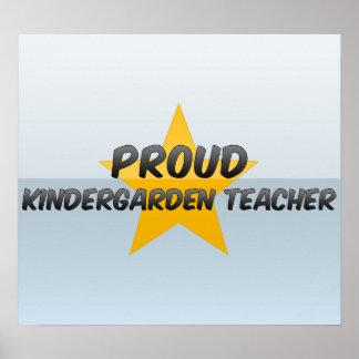 Proud Kindergarden Teacher Print