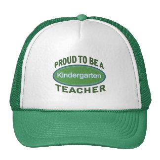 Proud Kindergarten Teacher Trucker Hat